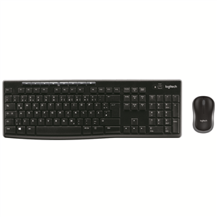 Juhtmevaba klaviatuur + hiir Logitech MK270 (US)