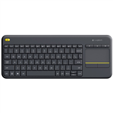 Juhtmevaba klaviatuur Logitech K400 Plus (US)