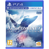 PS4 game Ace Combat 7: Skies Unknown