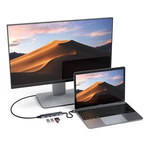 USB-C jagaja Multi-port 4K + SD-lugeja Satechi
