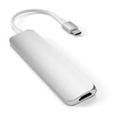 Adapter USB-C hub Multi-port 4K + SD-reader Satechi