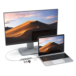 USB-C-хаб Multi-port 4K + SD-считыватель Satechi