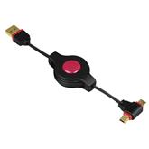 Juhe Micro/Mini USB Hama (0,75 m)