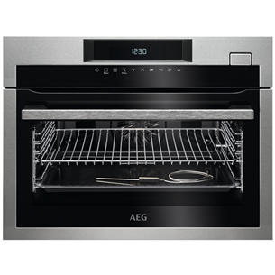 Built-in compact steam oven AEG KSE782220M