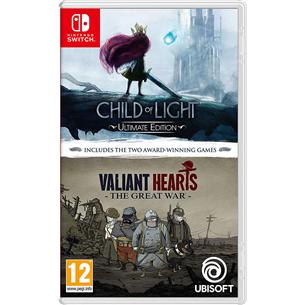 Switch mängud Child Of Light + Valiant Hearts