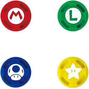 Силиконовые накладки HORI Super Mario для пульта Nintendo Switch