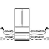 SBS-külmik Liebherr (204 cm)