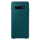 Samsung Galaxy S10+ leather case