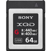 XQD mälukaart Sony (64 GB)