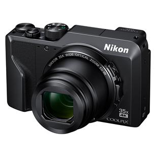 Fotokaamera Nikon COOLPIX A1000 + mälukaart + kott