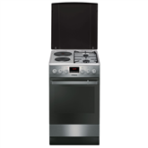 Combined cooker with electric oven, Hansa / 50 cm