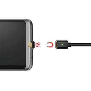 Магнитный провод USB - micro USB, Hama / 1 m