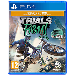 PS4 mäng Trials Rising Gold Edition