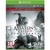 Игра для Xbox One, Assassins Creed III + Liberation Remastered