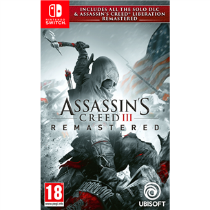 Switch mäng Assassins Creed III + Liberation Remastered