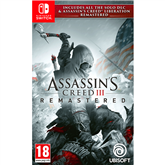 Switch mäng Assassins Creed III + Liberation Remastered (eeltellimisel)