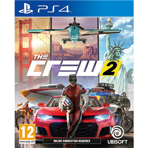 Игра для PlayStation 4, The Crew 2 3307216024590