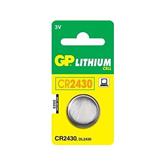 Батарейка CR2430C1, GP (3 В)