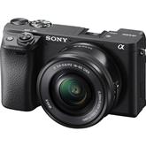 Hübriidkaamera Sony α6400 + objektiiv 16-50mm