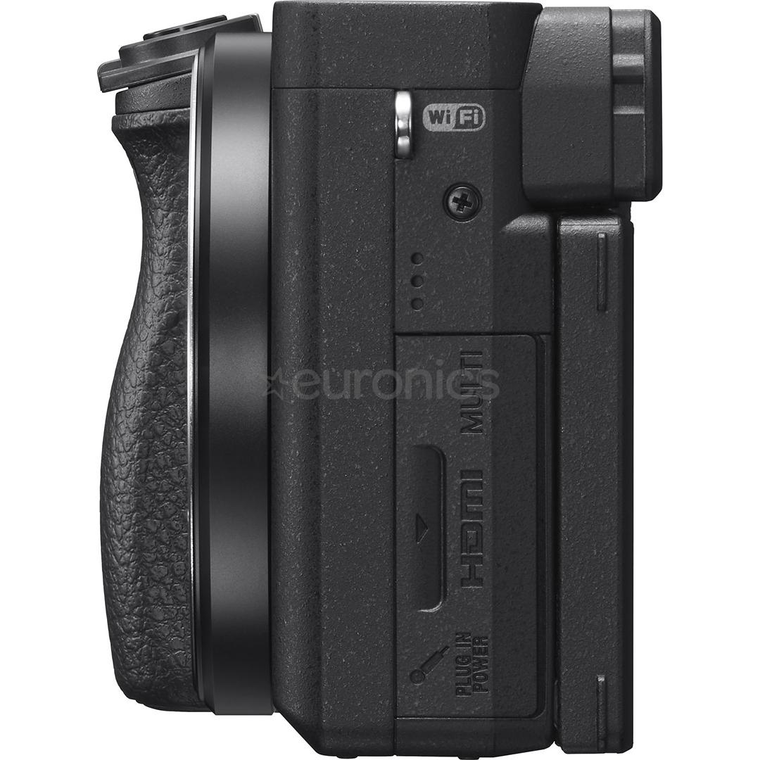 527b4b4e629 Hübriidkaamera Sony α6400 + objektiiv 16-50mm, ILCE6400LB.CEC