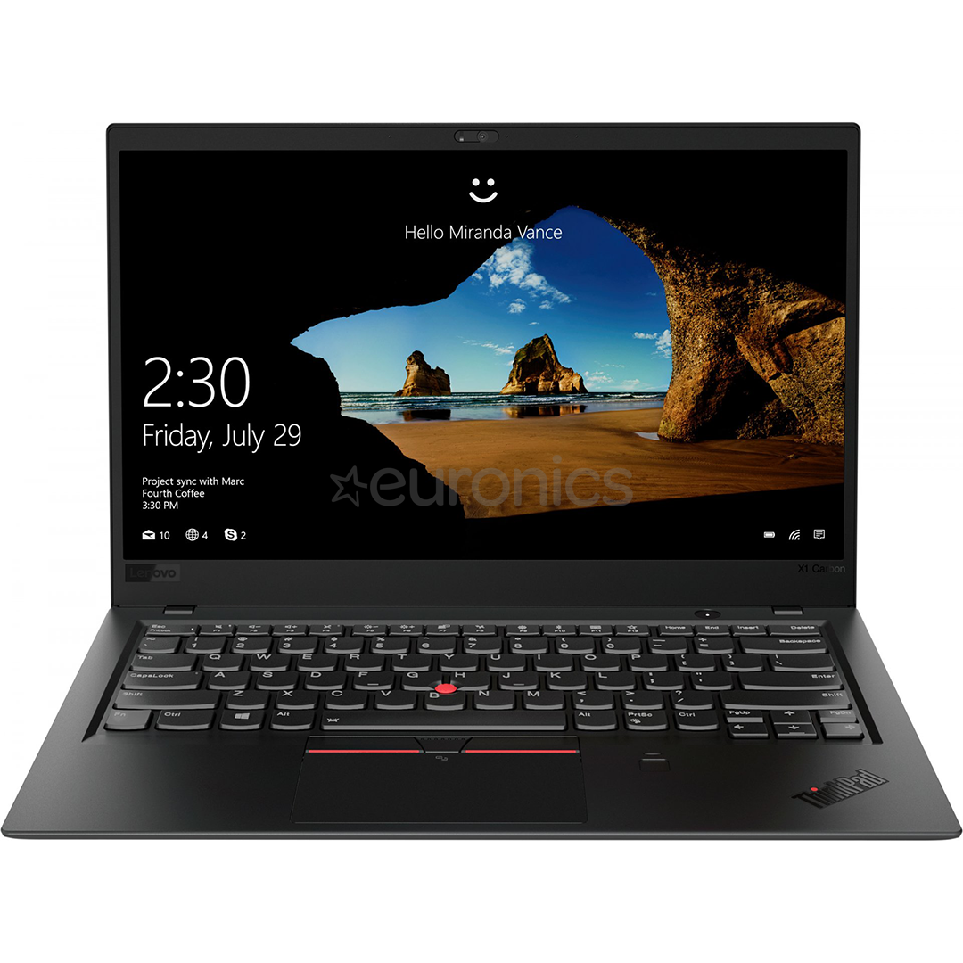 b81c0f616aa Sülearvuti Lenovo ThinkPad X1 Carbon (2018), 20KH006JMX