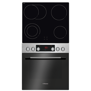 Built-in set oven + hob Hansa