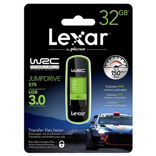 USB mälupulk Lexar JumpDrive S75 WRC (32 GB)