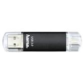 Mälupulk USB / micro USB Hama Laeta Twin (16 GB)