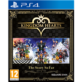 PS4 mäng Kingdom Hearts: The Story So Far