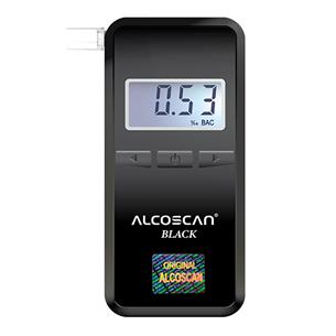 Breathalyzer Alcoscan Black