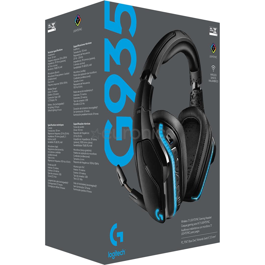 Wireless headset 7.1 Logitech G935 LIGHTSYNC