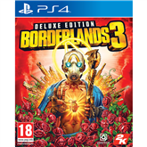 PS4 game Borderlands 3 Deluxe Edition