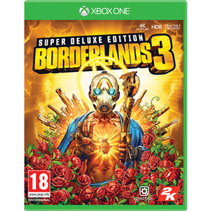 Xbox One game Borderlands 3 Super Deluxe Edition