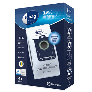 Tolmukotid Electrolux  s-bag Classic Long Performance E201S