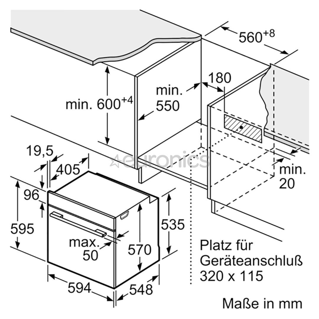 Integreeritav ahi Bosch