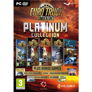PC game Euro Truck Simulator 2 Platinum Collection 5055957701925