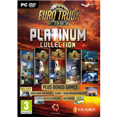 Arvutimäng Euro Truck Simulator 2 Platinum Collection