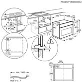 Integreeritav kompakt-mikrolaineahi Electrolux