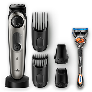 Beard trimmer Braun + Gillette Fusion razor BT7040