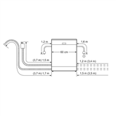 Built-in dishwasher Bosch (12 place settings)