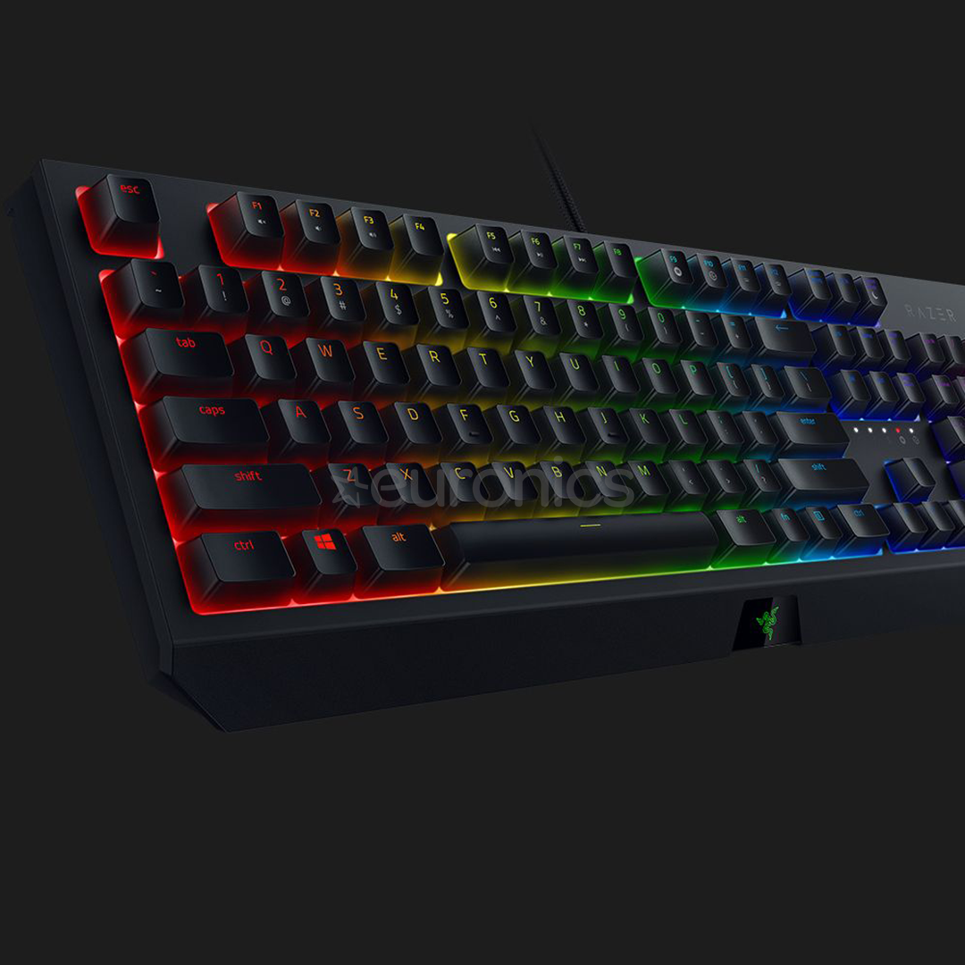 Keyboard Razer BlackWidow Green Switch (RUS)
