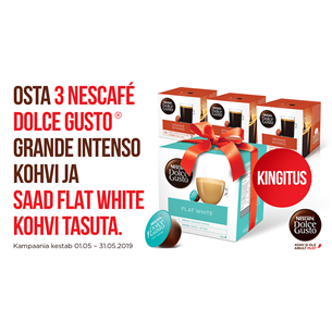Kohvikapslid Nescafe Dolce Gusto 3x Grande Intenso+Flat White