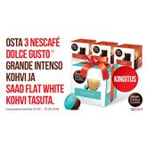 Coffee capsules Nescafe Dolce Gusto 3x Grande Intenso+Flat White