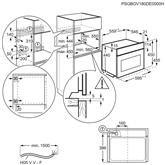 Integreeritav kompakt mikro-kombiahi Electrolux