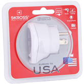 Reisiadapter EUR -- USA Skross