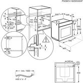 Integreeritav auruahi Electrolux