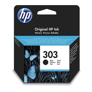Tindikassett HP 303 (must)