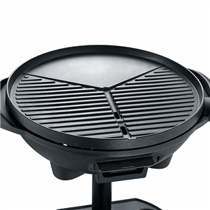 Electric BBQ stand grill with hood Severin