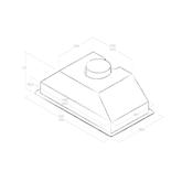 Integreeritav õhupuhasti Elica (365 m³/h)