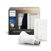 Лампочка Hue E27 White Ambiance + диммер Hue Philips
